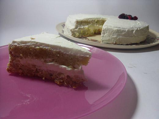 עוגת לימון ללא קמח