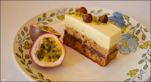 טרייסיפלורה: קינוח שוקולד-דבש-פסיפלורה