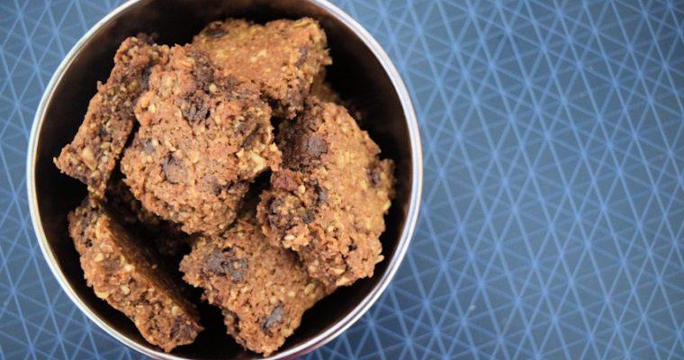 עוגיות גרנולה טבעוניות
